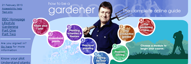 Como se transformar num jardineiro