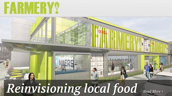The Farmery, o projeto que reduz as distâncias percorridas pelos alimentos