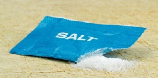 Mais um pouco de sal? Não obrigado!